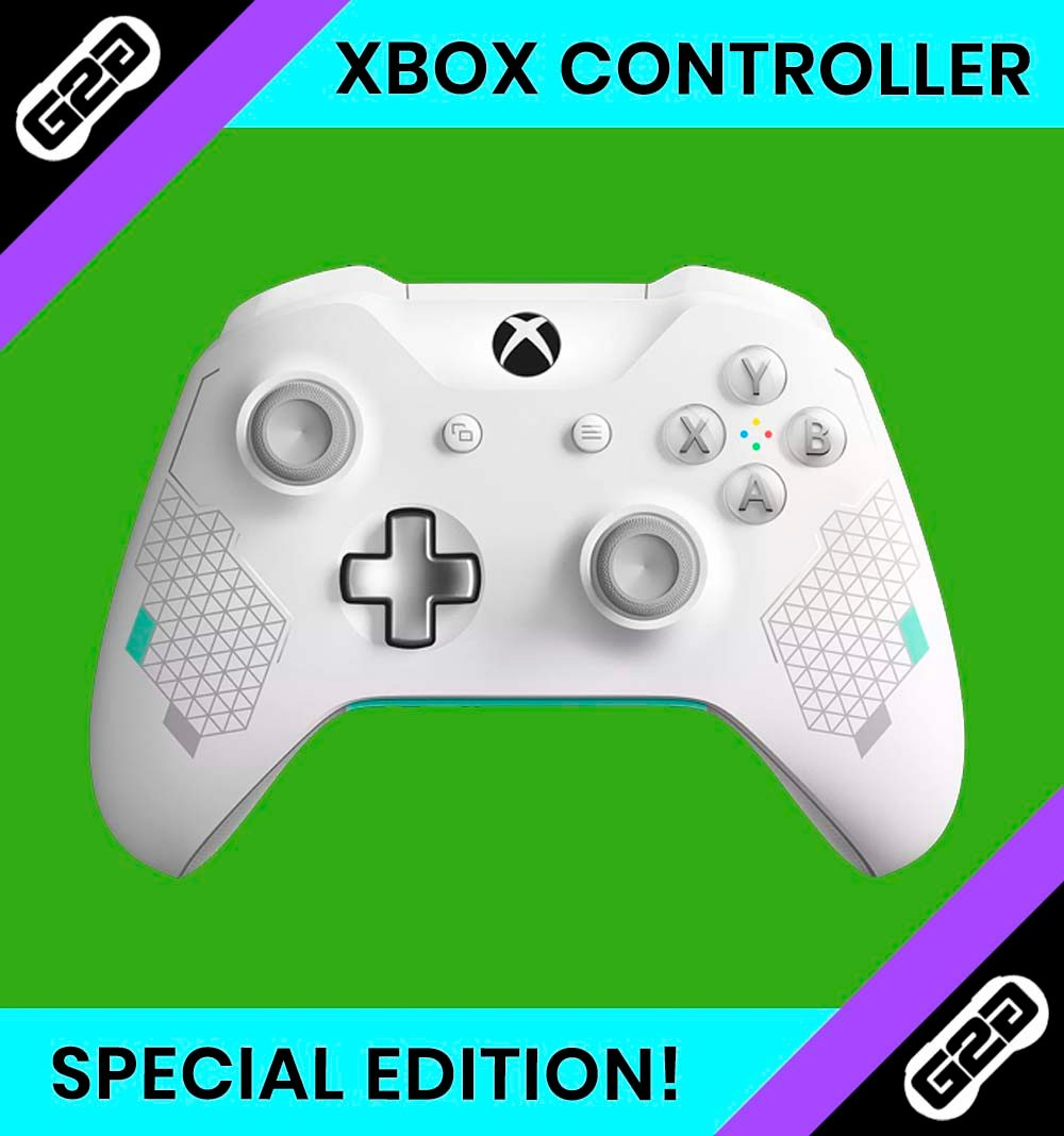 Xbox One Sports White Controller Special Edition
